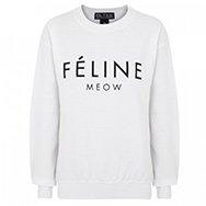 BRIAN LICHTENBERG - Printed cotton jersey sweatshirt