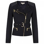MICHAEL MICHAEL KORS - Belted tweed jacket