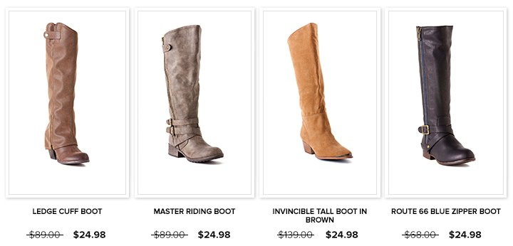 Select Sale Boots Row 1