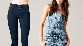 High-Waisted Spring Jeans by Sneak Peek