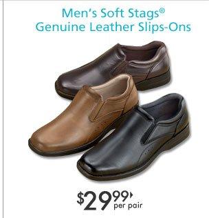 Shop Men's Leather Slip-Ons