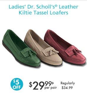 Shop Ladies' Tassel Loafers