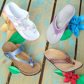 California Footwear & Spenco Sandals