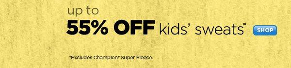 SHOP Kids' Sweats Sale
