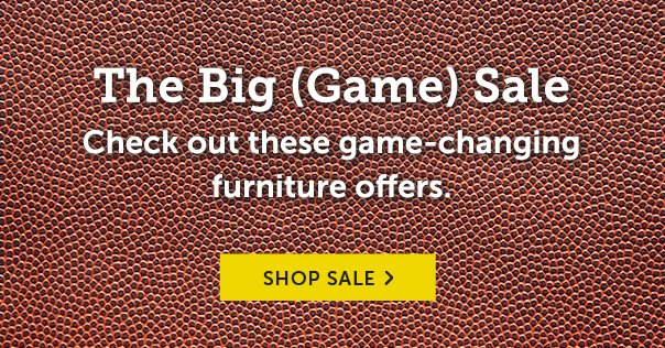 The Big (Game) Sale - Check Out These Game-Changing Furniture Offers!