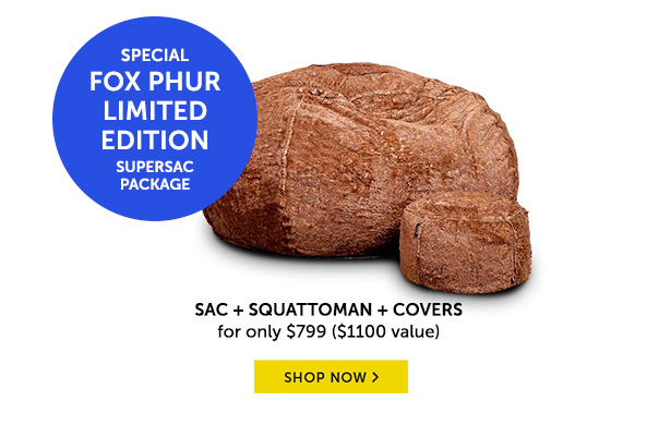 Special Fox Phur Limited Edition Supersac Package!