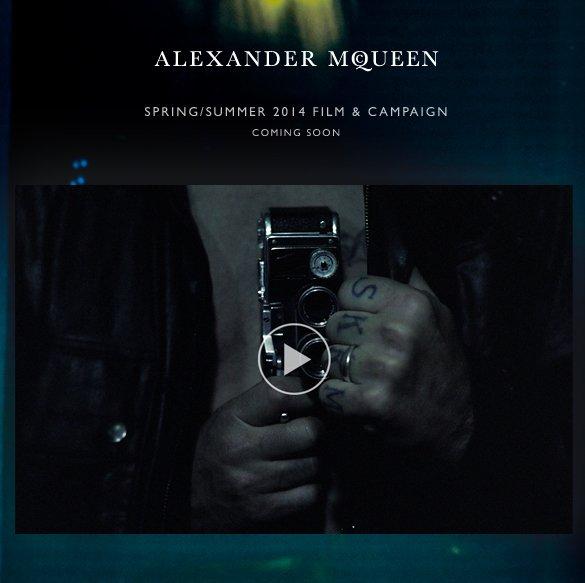 Alexander McQueen Spring/Summer 2014 Film & Campaign