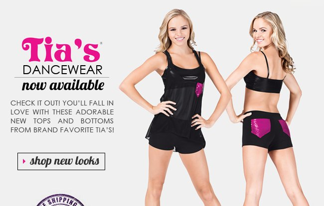 Introducing Cool New Looks by Tia's