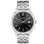 Caravelle 43B131 Mens New York Grey Dial Steel Bracelet Quartz Watch