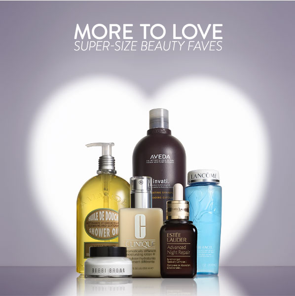 MORE TO LOVE - SUPER-SIZE BEAUTY FAVES