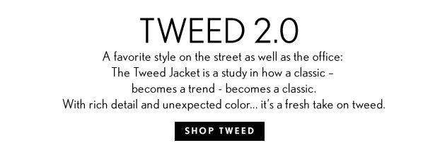 Shop Tweed