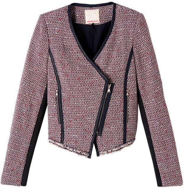 Cutaway Tweed Jacket