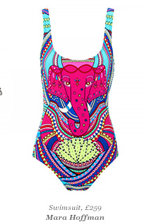 Swimsuit, £259 Mara Hoffman