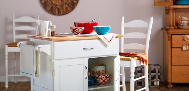 Update the Kitchen: With Colorful Cookware & More