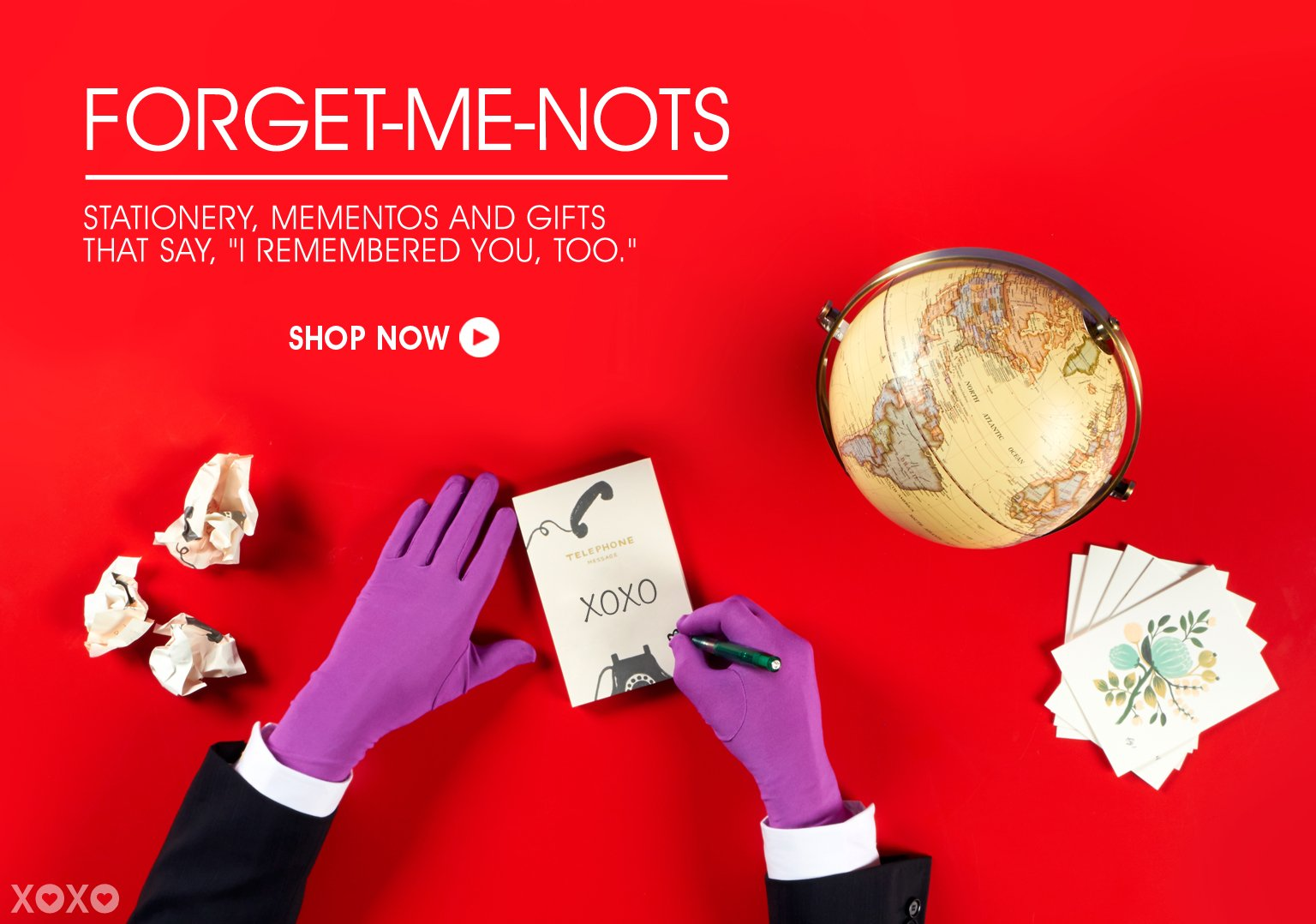 Forget-Me-Not Stationery, Momentos & Gifts