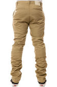 The Davis Slim Chino in Khaki