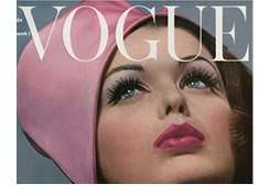 Vogue Cover - March 1962 By: Bert Stern