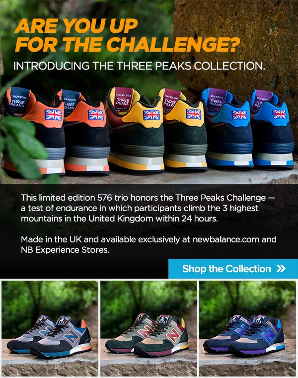 Limited Edition Three Peaks 576 — Shop Now