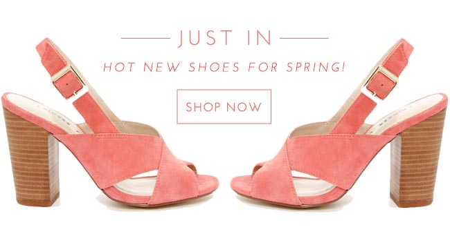 Hoy New Shoes of Spring