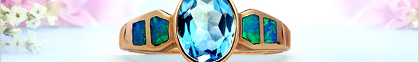 Masterpieces Dazzling Gems with Dramatic Fire Opals