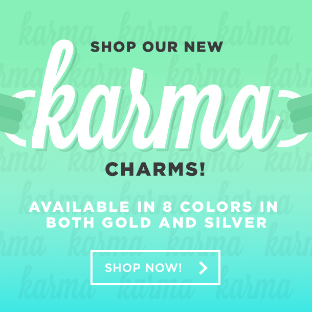 Shop our new Dream Bracelets! Available in 8 colors in both gold and silver.