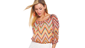 Printed Knits and Blouses by Lola P.