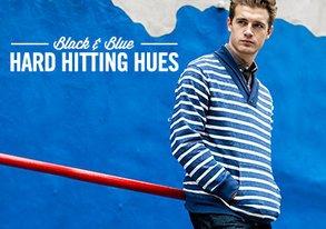 Shop Black & Blue: Hard-Hitting Hues