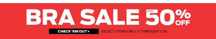 Bra Sale 50% Off