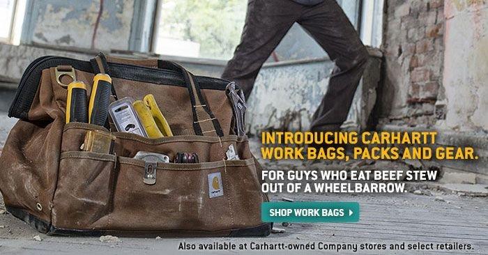 SHOP CARHARTT WORK BAGS