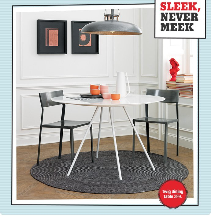 twig dining table 399.