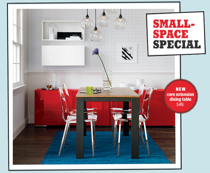 NEW core extension dining table 549.
