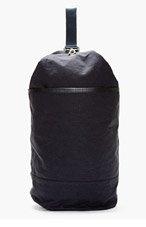 ORLEBAR BROWN Navy Textile Hybrid Backpack for men