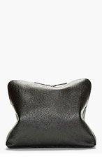 3.1 PHILLIP LIM Black Grained Leather Document Case for men