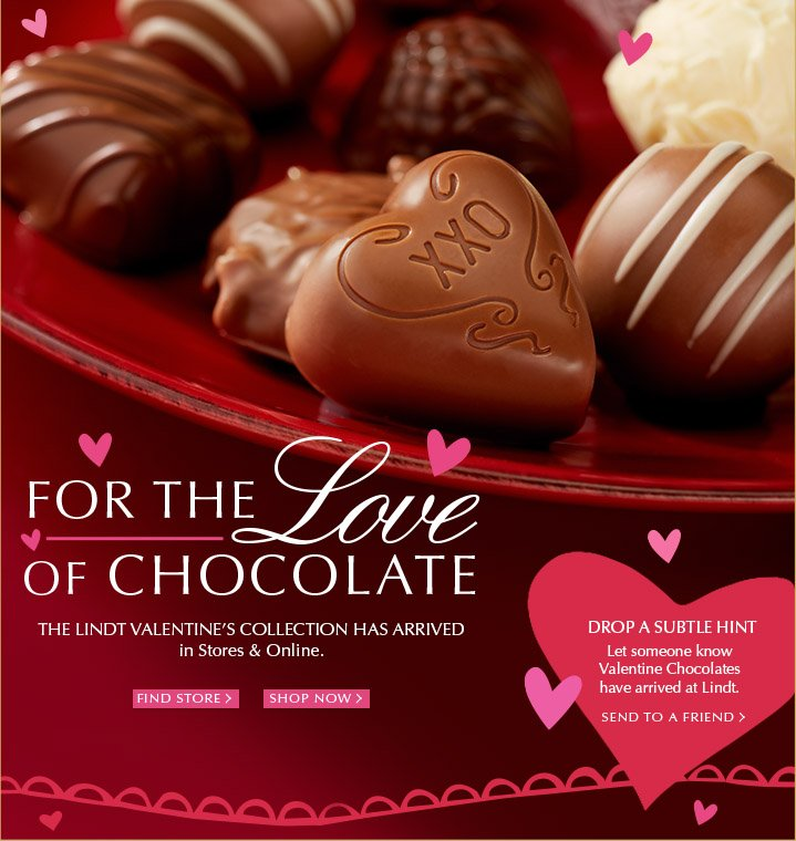 Lindt Chocolate Ready To Fall In Love Here S A Sneak Peek Of Our