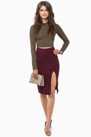 Reaching High Notes Skirt