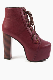 Lexa Lace Up Platform Boots