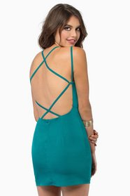 Cradle Back Dress
