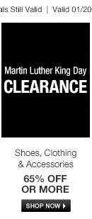 MLK Clearance