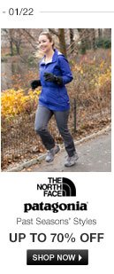 The North Face and Patagonia