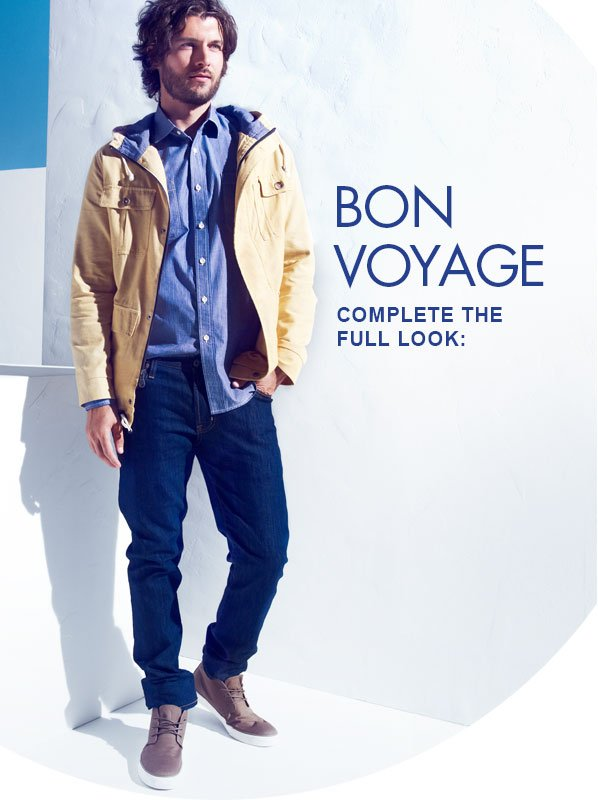 BON VOYAGE - COMPLETE THE FULL LOOK:
