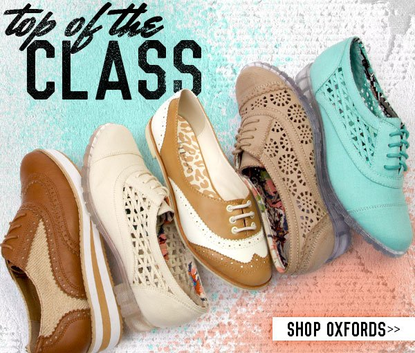 Oxfords: Top of the Class