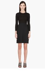 CALVIN KLEIN COLLECTION Black Combo Tay Bis Dress for women