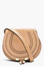 CHLOE Brown Small Marcie shoulder Bag for women