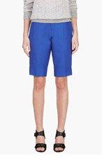 MARNI Blue Cotton Bermuda Shorts for women