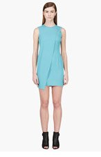 VERSUS Turquoise Safety Pin Dress for women