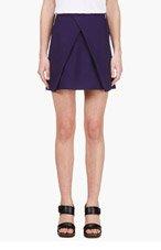 KENZO Purple crossover Skirt for women