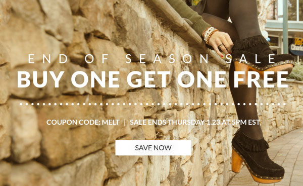 Buy One Get One Free Off the Entire Site with Coupon Code MELT!