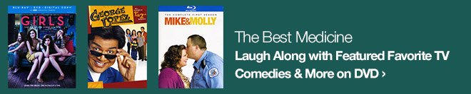 The Best Medicine - Laugh Along with Featured Favorite TV Comedies & More on DVD