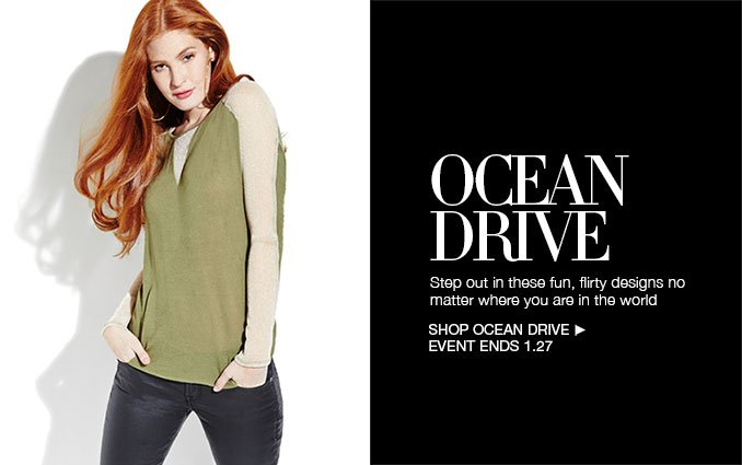 Shop Ocean Drive For Women