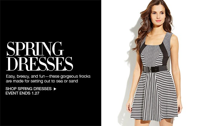 Shop Spring Dresses for Women